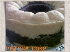 The taste of this cake makes we wanna eat it more and more..