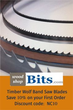 Buy all Sizes of Band Saw Blades from our online Store. Wolf Band, Woodworking Accessories, Timberwolf, Woodworking Clamps, Router Bits, Knives, Drill, Blade, Backyard