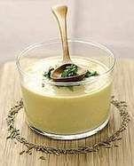 Ricetta Crema fredda di ceci alle erbe aromatiche - PRIMI PIATTI - Corriere della Sera