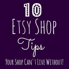 10 Etsy Shop Tips Your Shop Can't Live Without- Not doing these things could be killing your Etsy shop, and your income potential! shop 10 Etsy Shop Tips Your Shop Can't Live Without - Sarah White Etsy Business, Craft Business, Business Advice, Creative Business, Business Help, Tips And Tricks, Planner Stickers, Sell On Etsy, My Etsy Shop