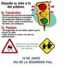 Vision 100 Plus C.A: Día Mundial de la Seguridad Vial