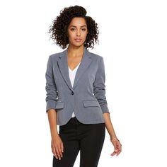Women's Bi-Stretch Twill Blazer - Merona™. Image 1 of 2.