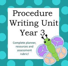 Complete Procedure Unit Year 3