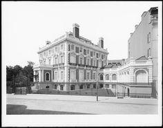 West 89th Street at Riverside Drive. Bishop Potter's residence.