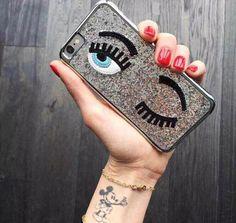 Frete grátis Fashional capa para o iphone 5 5S 6 6 plus olhos flertando brilho brilhantes 3D casos de capa dura telefone shell Hot sale em Capas para Telefones Celulares de Telefones e Celulares no AliExpress.com | Alibaba Group
