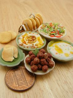 1:12 Scale Miniatures from the Mediterranean Cuisines by Shay Aaron, via Flickr