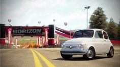 The 1968's Abarth 500 is one of the star of the brand new #ForzaHorizon