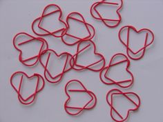 Heart - Promotional shaped paper clip