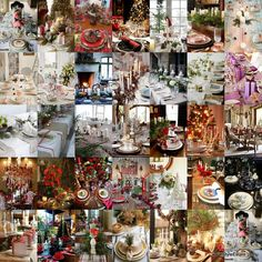 50 Stunning Tablescapes ~ Be sure to follow Christmas Table Decorations      on Pinterest for the latest updates.