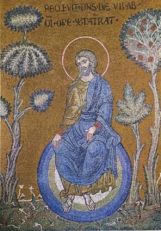 god-at-rest-after-the-creation-monreale | Art and Faith