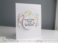 Hi everybody and welcome to my CAS-ual Fridays Stamps 'Girl Friday' post for this month.         For my card today I decided to use one of m...