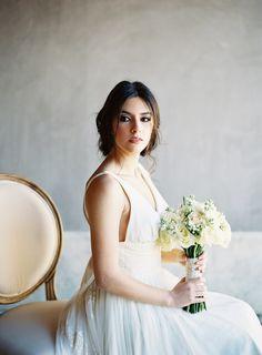 Romantic bridal bouquet