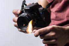 Com recursos e objetos simples você pode produzir uma foto perfeita
