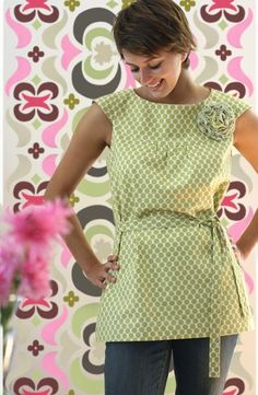 Amy Butler Lotus Fabrics with the Anna Tunic