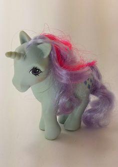 My Little Pony Vintage 80s G1 MLP 1984 Sparkler by VintageToyNerd