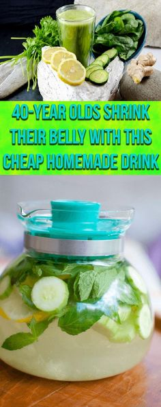 With The Help Of This Cheap Homemade Shake The 40-Year Olds Shrink Their Belly
