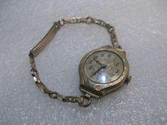 Vintage 1920's Art Deco  Ladies Watch, Pontiac, Swiss, 1/40 10KT Gold NO RESERVE #PontiaconbandSwissonfaceofwatch