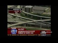 Houston, Texas Police Chase Car Burglars In Dodge Caravan (Fox News Version)