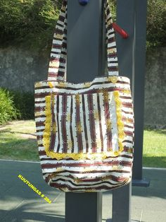 Handmade african shoulder bag by kuutungas on Etsy