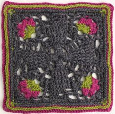 The Kalevala CAL is a blanket project where each participant can crochet their own Kalevala inspired blanket. square patterns, joining and the border, several languages. Crochet Squares, Crochet Granny, Crochet Baby, Knit Crochet, Granny Squares, Crochet Things, Crochet Afghans, Crochet Butterfly, Foundation Piecing