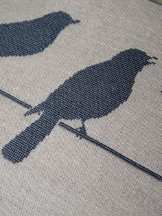 blue craft birds