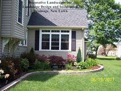 Front Yard Landscape Design and Installation