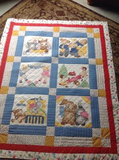 During our exceptional rainy weather this week, I got to settle down and quilt! Pretty basic, but I did use a different fabric on the back. Quilting Board, Rainy Weather, Different Fabrics, Quilts, Blanket, Quilt Sets, Blankets, Log Cabin Quilts, Cover