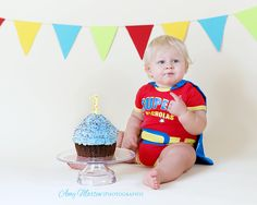 Cake smash - First birthday photography