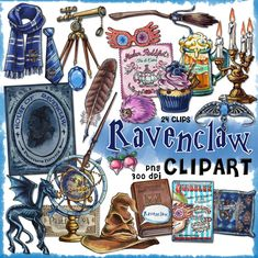 Ravenclaw clipart Harry Potter clipart Harry potter party Hogwarts house printable journal planner stickers Luna Lovegood scrapbook by Cutoutandplay 3 75 USD Harry Potter Clip Art, Harry Potter Journal, Party Harry Potter, Magie Harry Potter, Harry Potter Groups, Harry Potter Planner, Harry Potter Stickers, Harry Potter Room, Harry Potter Gifts