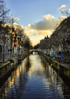 Travel Photography Netherlands Amsterdam Canal by WhitneyPierson, $30.00