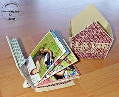 Immagina L'Atelier della Carta: Un mini album sotto il tetto