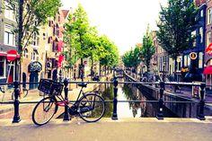 Red light (district) in daylight.#Amsterdam