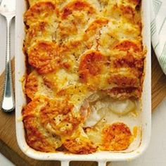Sugar Pink Food: Slimming World Recipe:- Two Potato Dauphinoise