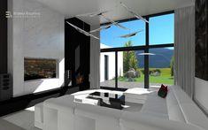 Kontrasztos minimál nappali.   nappali#etkezo#fekete#ko#feher#3d#led#maxlight#omexco#elegans#letisztult#erdelyikrisztina#design#lakberendezo#belsoepitesz Bathroom Lighting, Minimalism, Mirror, Modern, Furniture, Led, Home Decor, Bathroom Light Fittings, Bathroom Vanity Lighting