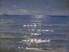 Peder Severin Krøyer (Danois 1851-1909) - Soleil sur la Mer