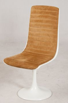 Anonymous; Lacquered Plastic Chair by Indes Collection, c1970.