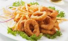 Groupon - Calamari and Chips with Sauce for Two, Four or Six from R69 at Crispies Fish and Chips (Up to 54% Off) in Cape Town. Groupon deal price: R69