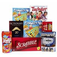 GAME-A-THON - scrabble, rummikub, monopoly, etc. - we can buy cheap goodies and put them in a gift bag for the ultimate champion :D