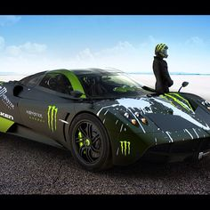 Cool Stuff We Like Here @ CoolPile.com ------- << Original Comment >> ------- Cool Monster Pagani Huayra