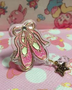 Twinkle Accessory Ring (Ballet Shoes) from SWIMMER - Lolita Desu
