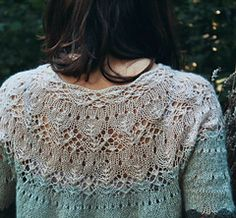 Ravelry: Fairy Tale pattern by Knitting For Breakfast Sweater Knitting Patterns, Lace Knitting, Knitting Designs, Knit Patterns, Knitting Projects, Knit Crochet, Summer Knitting, How To Purl Knit, Ravelry