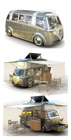 Wow...yes please!!! ~ Volkswagen Microbus concept