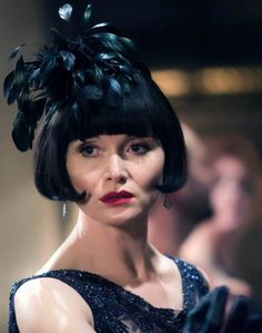 The ever glamorous Phryne Fisher