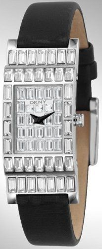 DKNY Women's Crystal Collection watch #NY4275 DKNY. Save 30 Off!. $105.00. Analog Display. Black Leather Strap