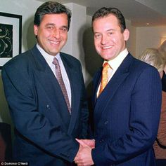 Hasnat Khan and Paul Burrell