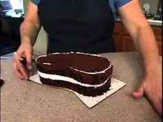 Flip Flop Shoe Cake Tutorial