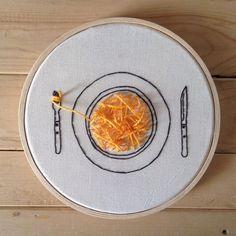 spaghetti embroidery