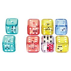 Double Dice Set of 6, A die inside a die!