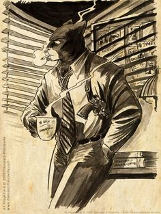 "BD: ""Blacksad"", Juanjo Guarnido"