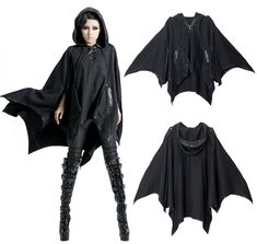 goth bat cloak - Google Search                                                                                                                                                                                 More